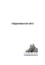 VWI Taetigkeit2013 FINAL cover